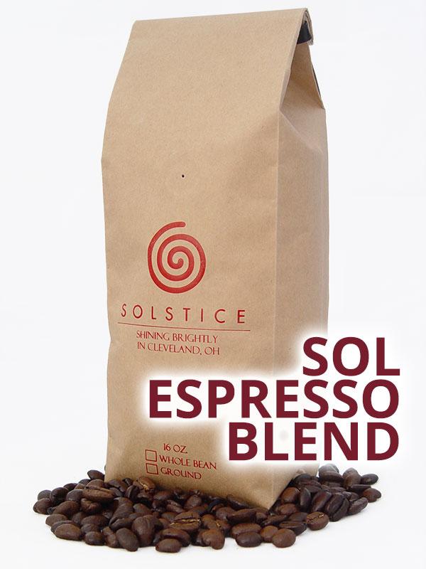 sol espresso blend