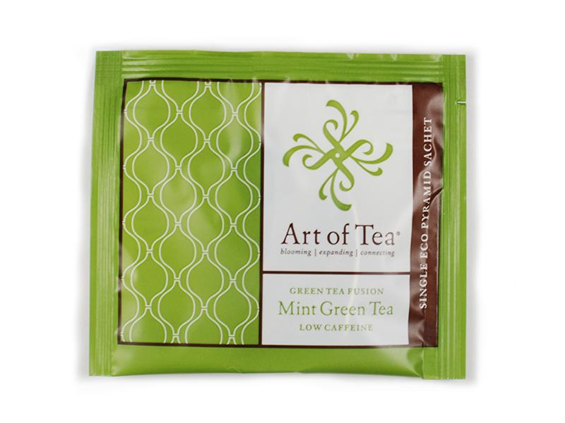 mint green tea f